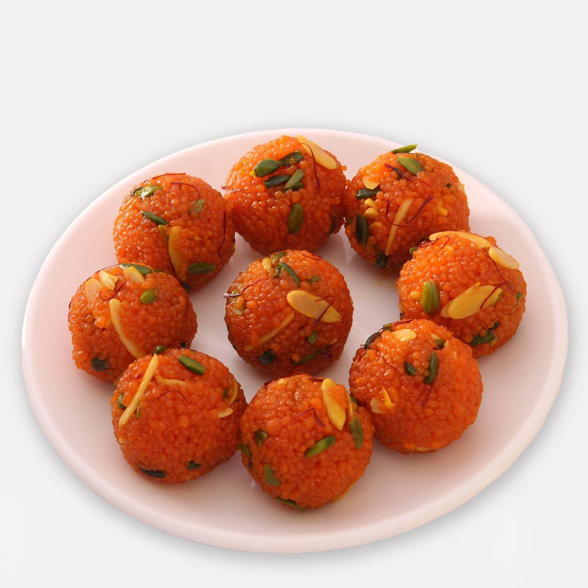Special Motichur Dryfruit Laddu